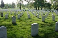 De Nationale Begraafplaats van Arlington Stock Afbeeldingen
