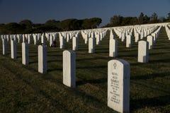 De Nationale begraafplaats van fortrosecrans stock foto