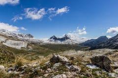 De Nationale Bergen van Parkdurmitor, Montenegro Royalty-vrije Stock Afbeeldingen