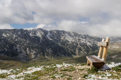 De Nationale Bergen van Parkdurmitor, Montenegro Royalty-vrije Stock Foto's