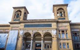 De Nationale Bibliotheek in Florence stock afbeeldingen