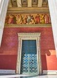 De Nationale en Kapodistrian-Universiteit van Athene Attica, Griekenland royalty-vrije stock foto