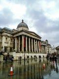 De nationale galerij, de kunst en de schilderijen van Groot-Brittannië stock foto's