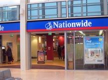 De Nationale hypotheekbank. Stock Afbeelding