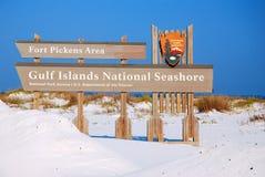 De Nationale Kust van golfeilanden stock foto
