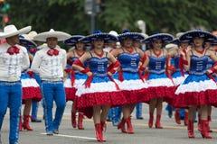 De Nationale Memorial Day -Parade royalty-vrije stock afbeelding