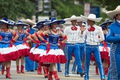 De Nationale Memorial Day -Parade stock fotografie