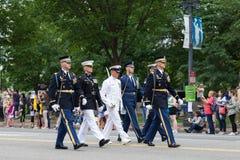 De Nationale Memorial Day -Parade royalty-vrije stock afbeeldingen