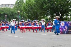 De Nationale Memorial Day -Parade stock afbeeldingen