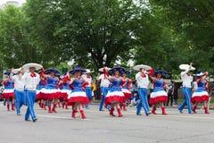 De Nationale Memorial Day -Parade royalty-vrije stock foto's