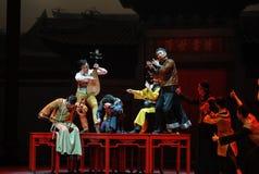 De Nationale Muziek van Guangdong de orkest-eerste handeling van de gebeurtenissen van dans drama-Shawan van het verleden stock foto