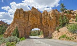 De nationale natuurlijke boog van de Parkingang, Verenigde Staten Stock Foto