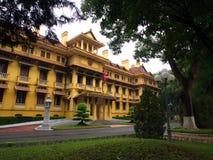 De nationale Overheidsbouw in Hanoi Reis in Vietnam 29ste N royalty-vrije stock fotografie