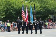 De nationale Parade van de Dag van de Onafhankelijkheid stock foto