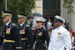 De nationale Parade van de Dag van de Onafhankelijkheid stock afbeelding