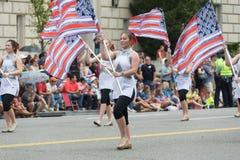 De nationale Parade van de Dag van de Onafhankelijkheid royalty-vrije stock foto's