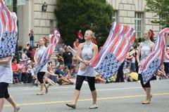De nationale Parade van de Dag van de Onafhankelijkheid royalty-vrije stock afbeelding