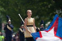 De nationale Parade 2018 van de Onafhankelijkheidsdag royalty-vrije stock afbeelding