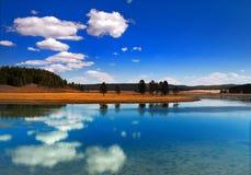 De nationale parken van Yellowstong Royalty-vrije Stock Afbeeldingen