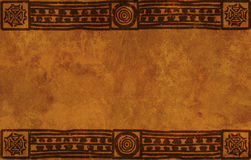 De nationale patronen van de Indiaan stock illustratie