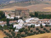 De Nationale Reserve van Serrania DE Ronda Stock Afbeeldingen