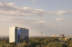 De Nationale Universiteit van Dnipropetrovsk. Royalty-vrije Stock Afbeeldingen