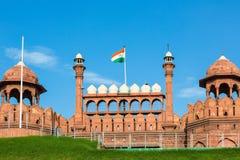 De nationale vlag van India Royalty-vrije Stock Afbeelding