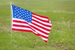De nationale vlag van Verenigde Staten royalty-vrije stock afbeelding