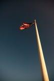 De Nationale Vlag van Verenigde Staten stock afbeelding