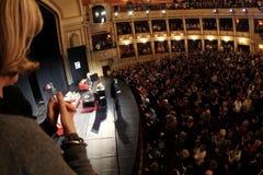 De nationale Zaal van de Opera Royalty-vrije Stock Fotografie