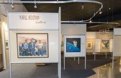 De nationale Zeegalerij van de Luchtvaart museum-Zeeluchtvaart stock afbeeldingen