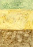 De Natuurlijke Achtergrond van Kleur drie Stock Afbeelding