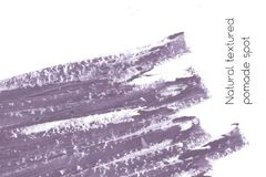 De natuurlijke achtergrond van de pommadebanner met ruwe grungetextuur van schoonheidsmiddelen Royalty-vrije Stock Afbeeldingen