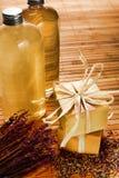 De natuurlijke Artisanale Staaf van de Zeep Aromatherapy royalty-vrije stock afbeelding