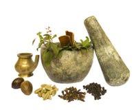 De Natuurlijke Gezondheid van Ayurveda royalty-vrije stock foto's