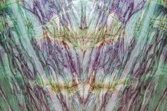 De natuurlijke groene marmeren achtergrond van de hoge resolutietextuur Een reusachtige marmeren muur met kleurrijke stroken royalty-vrije stock afbeelding