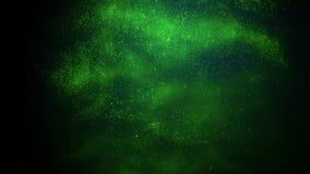 De natuurlijke mooie wilde achtergrond van de de textuuranimatie van de patroon groene inkt stock videobeelden
