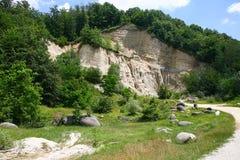 De Natuurlijke Reserve van het Trovantimuseum Stock Afbeelding