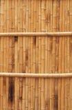 De natuurlijke textuur van de bamboeomheining Royalty-vrije Stock Foto