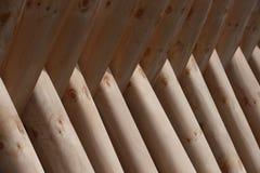 De natuurlijke textuur van houten panelen Stock Foto