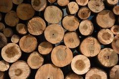 De natuurlijke textuur van houten panelen Stock Illustratie