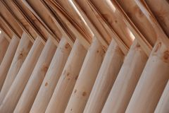 De natuurlijke textuur van houten panelen Stock Afbeelding