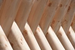 De natuurlijke textuur van houten panelen Stock Fotografie