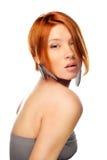 De natuurlijke vrouw van de Schoonheid Stock Foto's