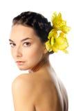 De natuurlijke vrouw van de Schoonheid Royalty-vrije Stock Fotografie
