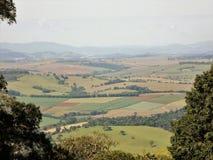 De natuurlijke zon van de aardhorizon paisagem stock afbeelding