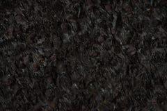 De natuurlijke zwarte close-up van de steentextuur, donkere grijze muurachtergrond Royalty-vrije Stock Fotografie