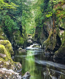 De Nauwe vallei van de fee Royalty-vrije Stock Fotografie
