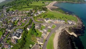 De Nauwe valleien van het Cushendalldorp van Co Antrim Noordelijke Irelan van Antrim Stock Foto