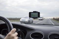 De Navigatie van de auto Royalty-vrije Stock Afbeelding